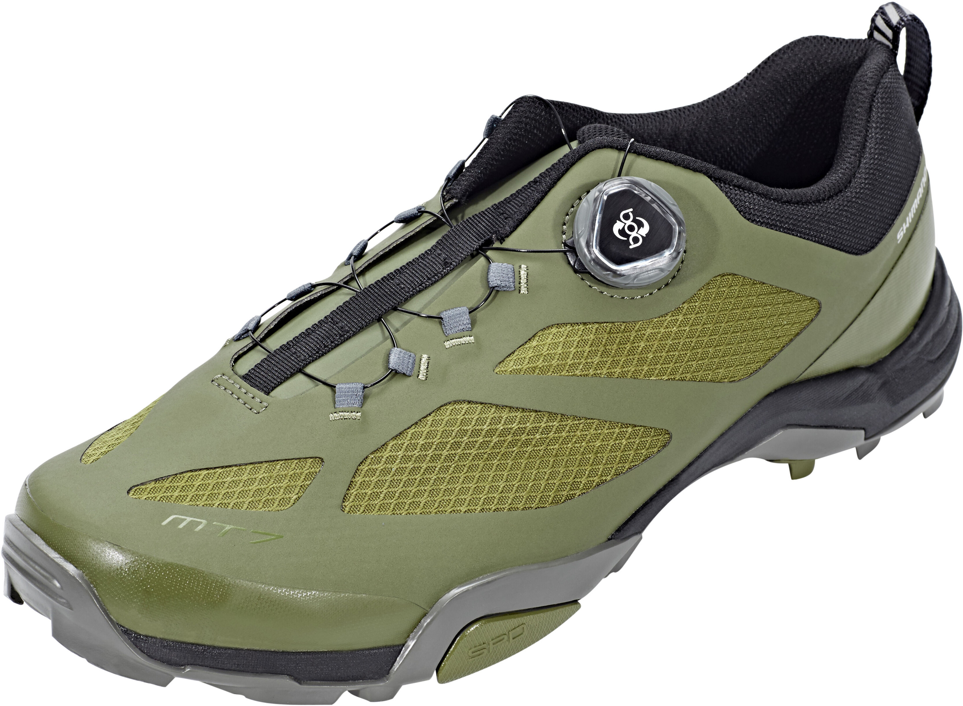new concept 0aeb3 b0e08 Shimano SH-MT7 - Chaussures - olive